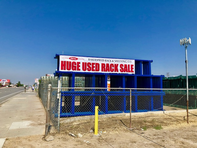 Huge Used Rack Sale